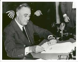 Signing of the National Credit Union Act in 1934