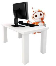 robix computer tall
