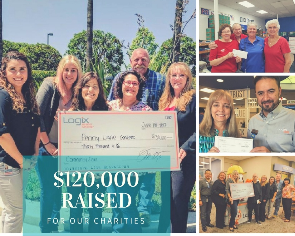 Logix Employees Give $120,000!