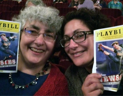 Alethia and her mom enjoyed Newsies